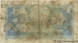 10 Rupees SEYCHELLES  1968 P.15a B+