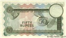 50 Rupees SEYCHELLES  1970 P.17c pr.NEUF