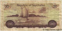20 Rupees SEYCHELLES  1977 P.20 TB