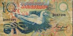 10 Rupees SEYCHELLES  1983 P.28a TB