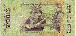 25 Rupees SEYCHELLES  1983 P.29a TB