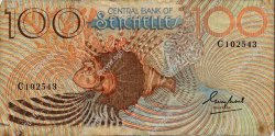100 Rupees SEYCHELLES  1983 P.31a TB