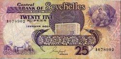 25 Rupees SEYCHELLES  1989 P.33 TB