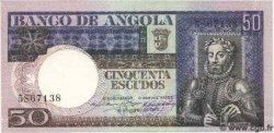50 Escudos ANGOLA  1973 P.105