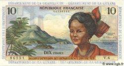 10 Francs ANTILLES FRANÇAISES  1964 P.08 NEUF