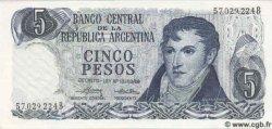 5 Pesos ARGENTINE  1976 P.294 NEUF