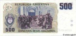 500 Pesos Argentinos ARGENTINE  1984 P.316 NEUF