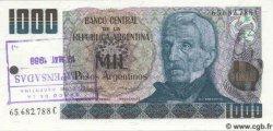 1000 Pesos Argentinos ARGENTINE  1984 P.317b NEUF
