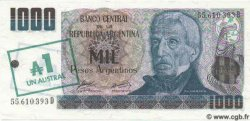 1 Austral sur 1000 Pesos Argentinos ARGENTINE  1985 P.320 NEUF