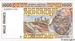 1000 Francs BÉNIN  1995 P.211Bf NEUF