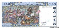 5000 Francs BÉNIN  1994 P.213Bc NEUF