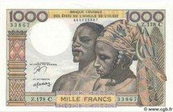 1000 Francs BURKINA FASO  1961 P.303Cn NEUF