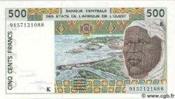 500 Francs SÉNÉGAL  1991 P.710Ka NEUF