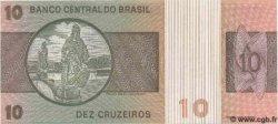 10 Cruzeiros BRÉSIL  1980 P.193e NEUF