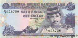 1 Dollar BRUNEI  1991 P.13 NEUF