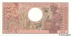 500 Francs CENTRAFRIQUE  1981 P.09 NEUF