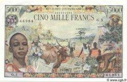 5000 Francs CENTRAFRIQUE  1980 P.11 pr.NEUF
