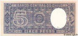 5 Pesos CHILI  1958 P.110 NEUF