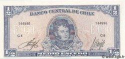 1/2 Escudo CHILI  1970 P.134A NEUF