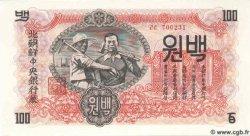 100 Won CORÉE DU NORD  1947 P.11b NEUF