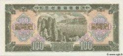 100 Won CORÉE DU NORD  1959 P.17 pr.NEUF