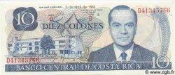 10 Colones COSTA RICA  1986 P.237b NEUF