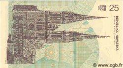 25 Dinara CROATIE  1991 P.19 NEUF