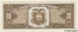 20 Sucres ÉQUATEUR  1986 P.121A NEUF
