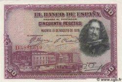 50 Pesetas ESPAGNE  1928 P.075a NEUF