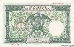 1000 Pesetas ESPAGNE  1957 P.149a SPL