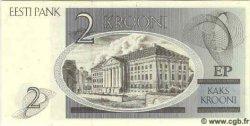 2 Krooni ESTONIE  1992 P.70 NEUF