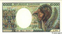 10000 Francs GABON  1991 P.10b NEUF
