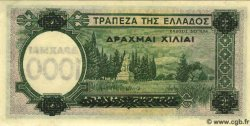 1000 Drachmes sur 100 Drachmes GRÈCE  1939 P.111 pr.NEUF