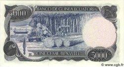 5000 Bipkwele GUINÉE ÉQUATORIALE  1979 P.17 NEUF