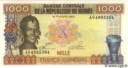 1000 Francs Guinéens GUINÉE  1985 P.32a pr.NEUF