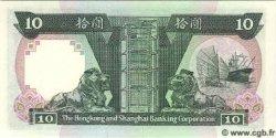 10 Dollars HONG KONG  1985 P.191a NEUF