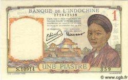 1 Piastre INDOCHINE FRANÇAISE  1949 P.054d NEUF