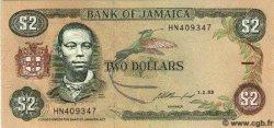 2 Dollars JAMAÏQUE  1993 P.69e NEUF