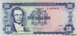 10 Dollars JAMAÏQUE  1992 P.71d NEUF