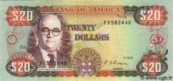 20 Dollars JAMAÏQUE  1991 P.72d NEUF