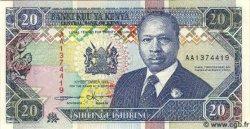 20 Shillings KENYA  1993 P.31 NEUF