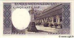 50 Kip LAOS  1963 P.12a