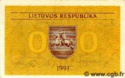 0,50 Talonas LITUANIE  1991 P.31a NEUF