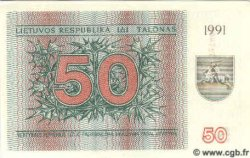 50 Talonu LITUANIE  1991 P.37b NEUF
