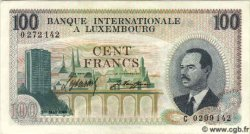 100 Francs LUXEMBOURG  1968 P.14a pr.NEUF
