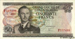 50 Francs LUXEMBOURG  1972 P.55b NEUF