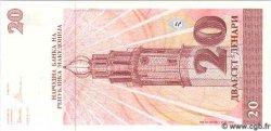 20 Denari MACÉDOINE  1993 P.10a NEUF