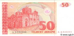 50 Denari MACÉDOINE  1993 P.11a NEUF