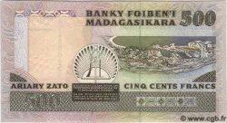 500 Francs Ou 100 Ariary MADAGASCAR  1993 P.71 NEUF