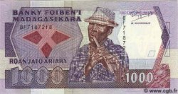 1000 Francs Ou 200 Ariary MADAGASCAR  1993 P.72 NEUF
